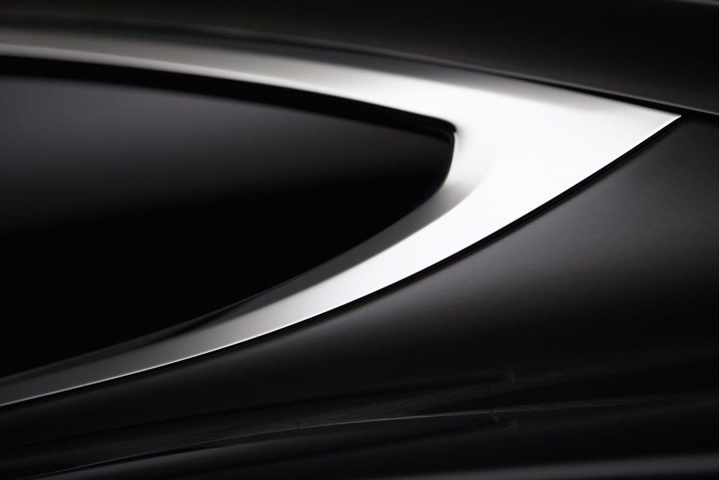 Tesla Model X Close Up
