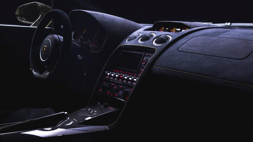 Lamborghini Gallardo Cockpit