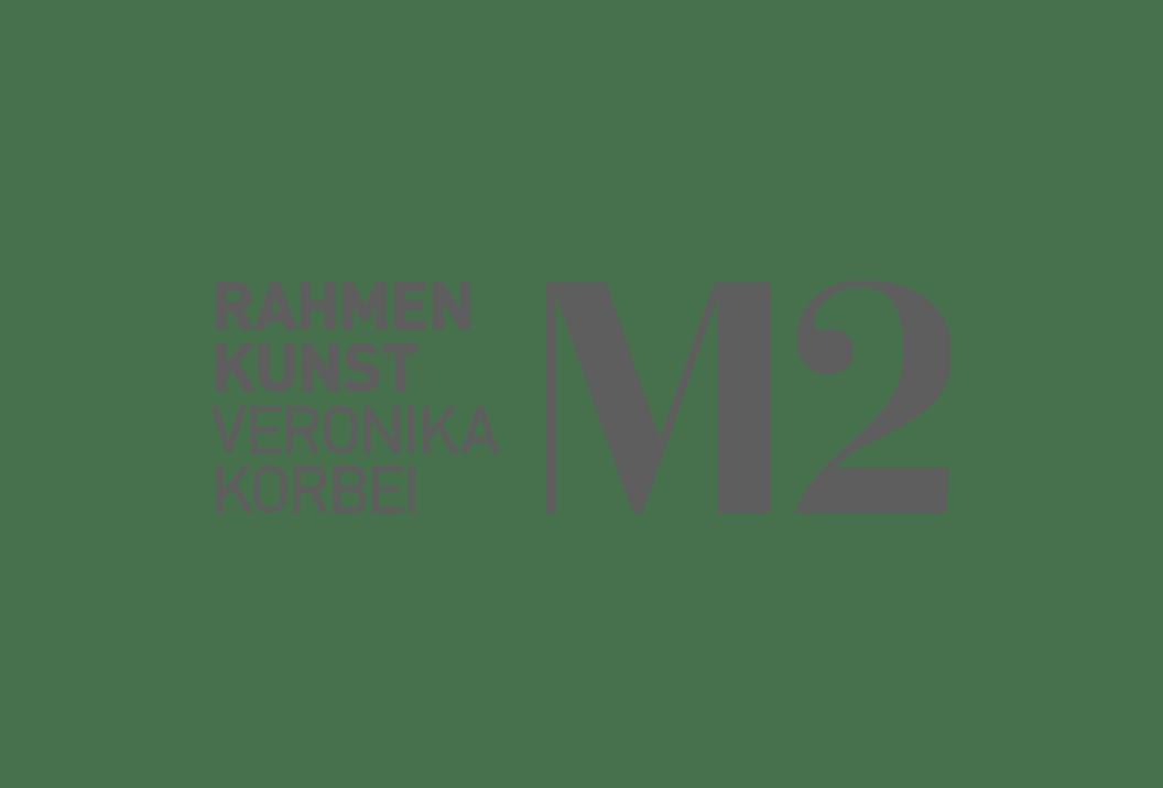 Logo M2 Rahmenkunst Veronika Korbei