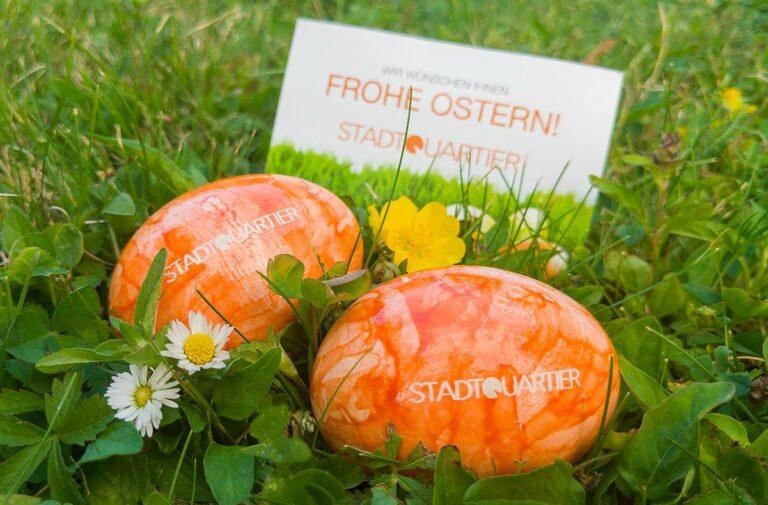 Stadtquartier Easter Eggs
